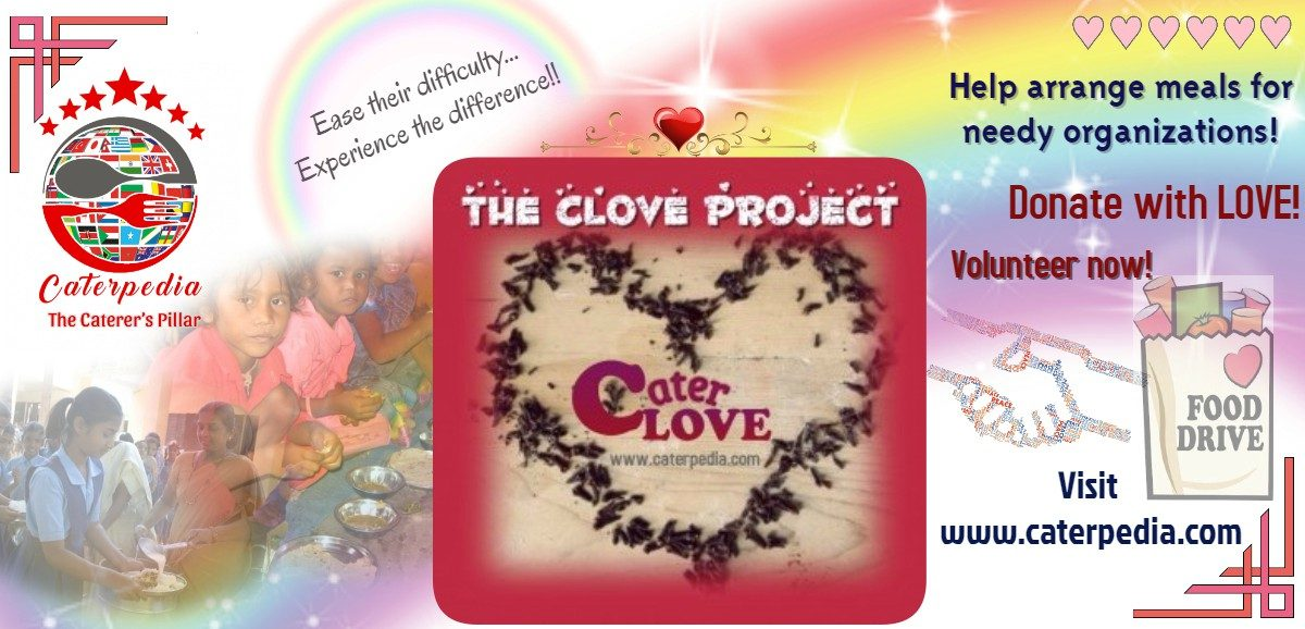 Join Caterpedia's CLOVE Project and help provide meals to the needy